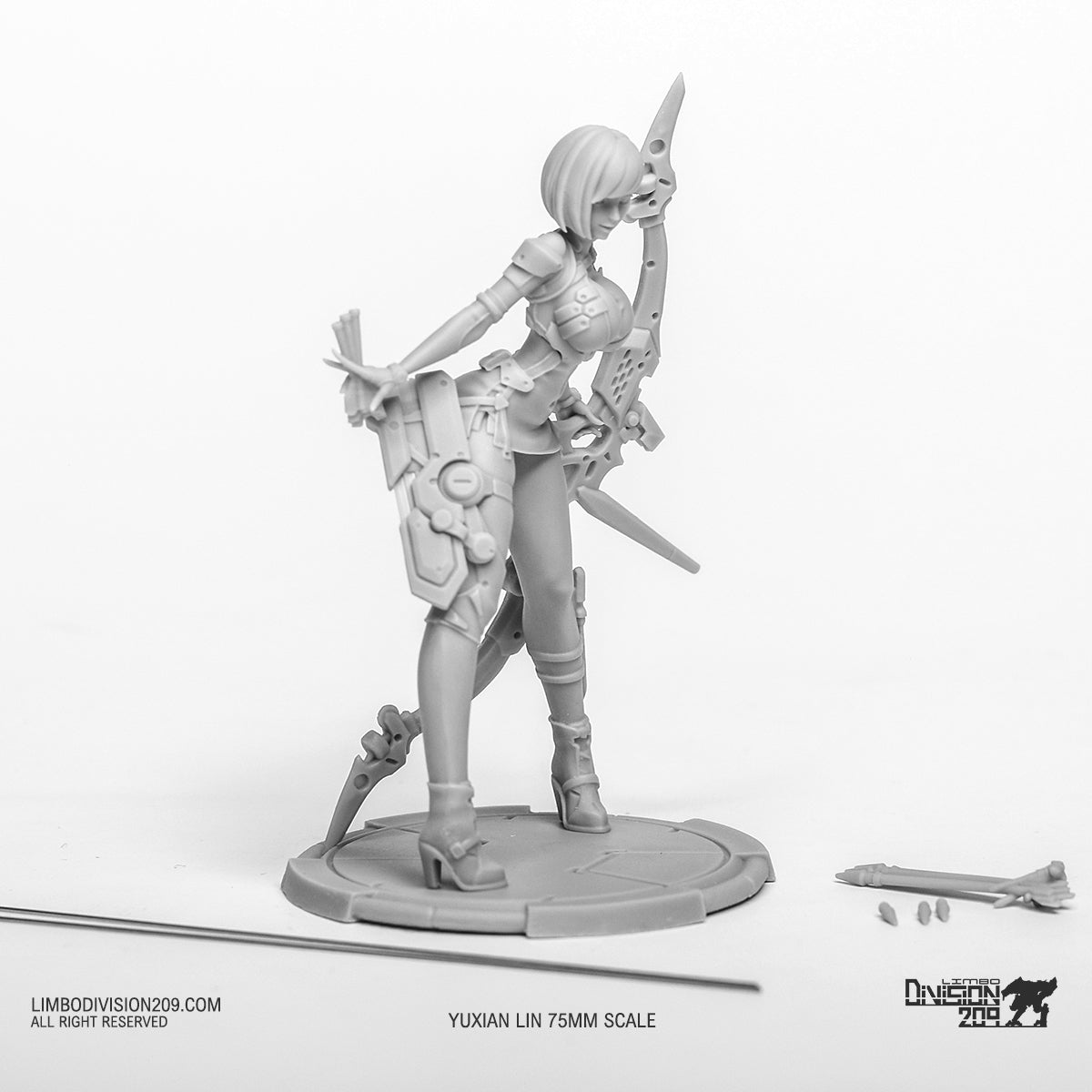 "Magnetic Archer ""Yuxian Lin"" 75mm (2nd Edition) Pre-order"