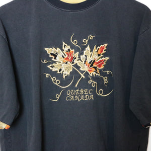 Vintage Quebec Canada Tee - L-NEWLIFE Clothing