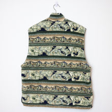 Load image into Gallery viewer, Vintage Printed Fleece Vest - L/XL-NEWLIFE Clothing