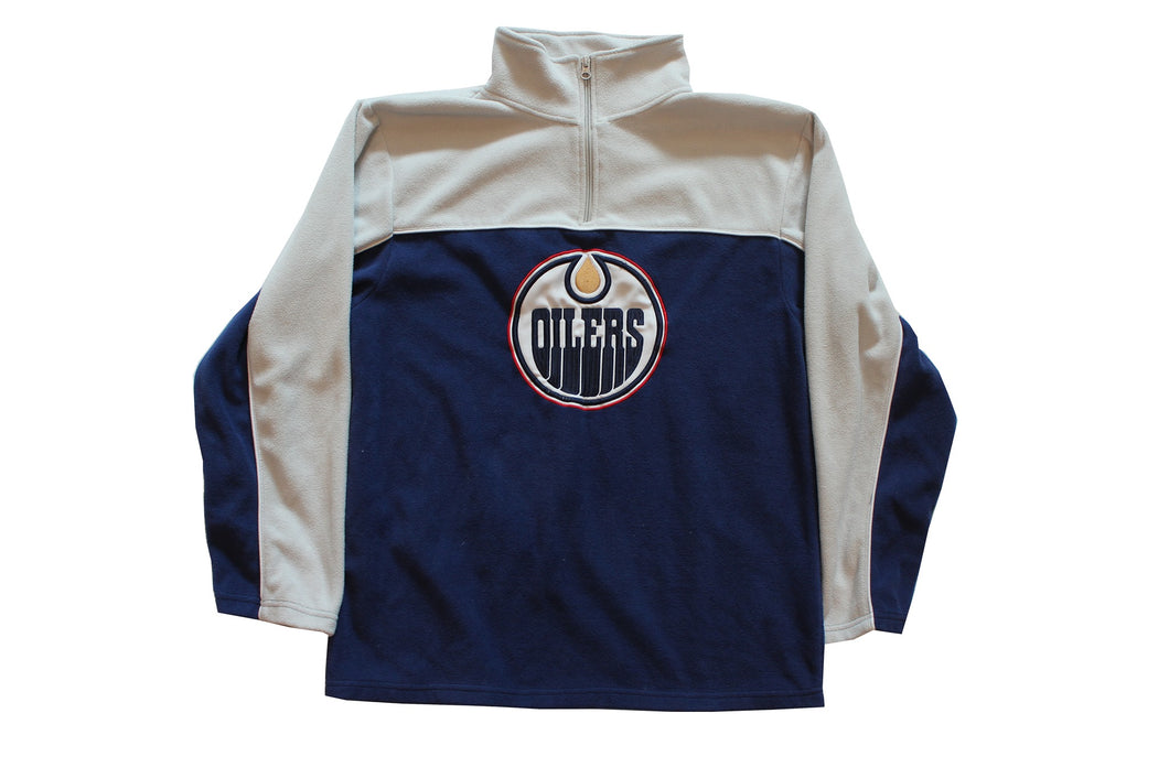 Vintage Oilers Fleece Jacket