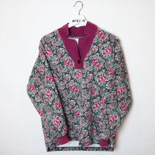 Load image into Gallery viewer, Vintage floral sweater