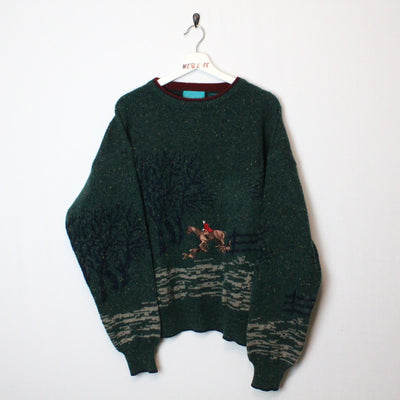 Vintage horse knit sweater