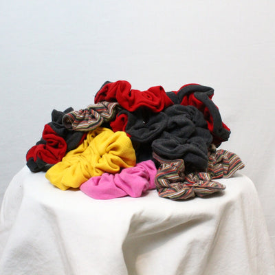Vintage reworked scrunchies