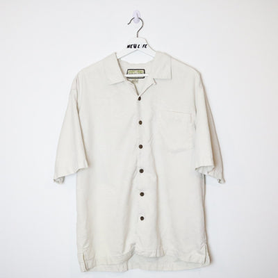 Vintage short sleeve button up