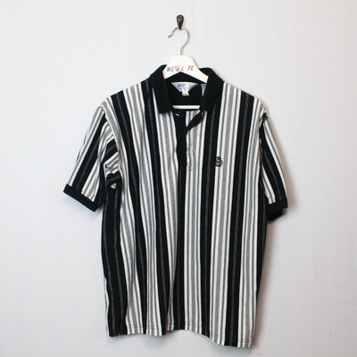 Vintage Striped Polo Shirt - L-NEWLIFE Clothing