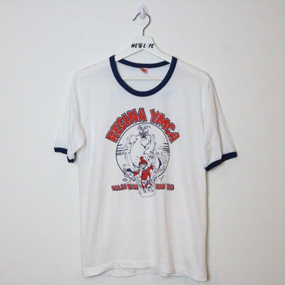 Vintage YMCA Polar Bear shirt