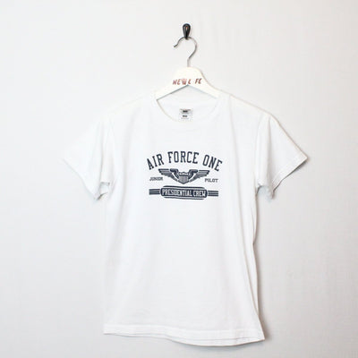 Vintage 90's Air Force One Tee - XS-NEWLIFE Clothing
