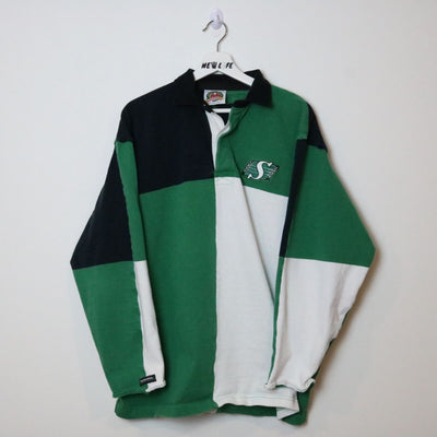 Vintage Saskatchewan roughriders polo shirt