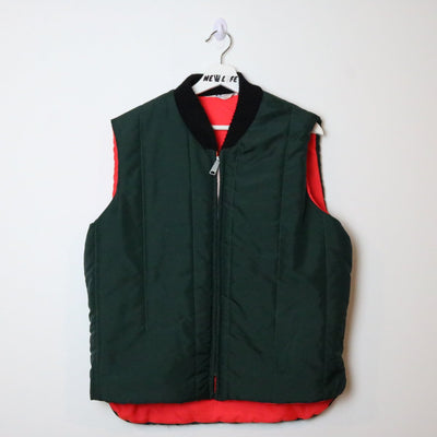 Vintage 70s Reversible Vest - L-NEWLIFE Clothing