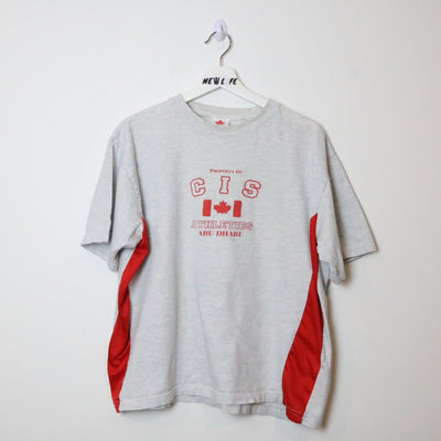 Vintage CIS Athletics Tee - L-NEWLIFE Clothing