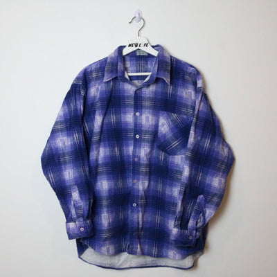 Vintage Plaid Flannel Button Up - XL/XXL-NEWLIFE Clothing