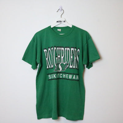 Vintage 90s Saskatchewan Roughriders Tee - XL-NEWLIFE Clothing