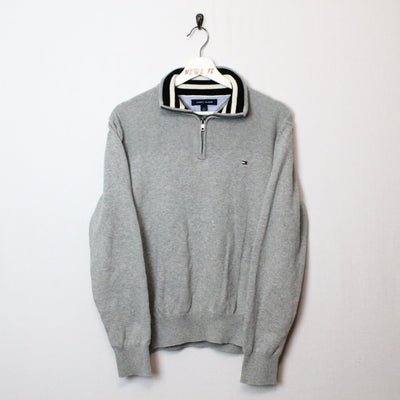 Vintage Tommy Hilfiger Quarter Zip Sweater - M-NEWLIFE Clothing