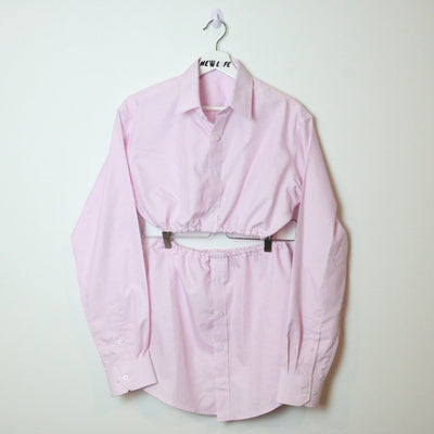 vintage reworked dress shirt set