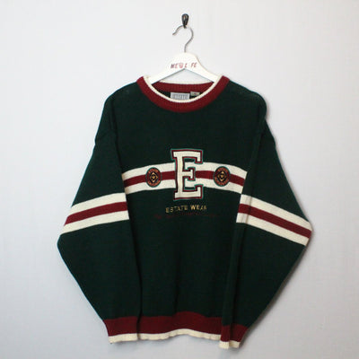 Vintage Estate Wear Knit Sweater - M-NEWLIFE Clothing
