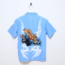 Load image into Gallery viewer, Dragon Short Sleeve Button Up-NEWLIFE Clothing