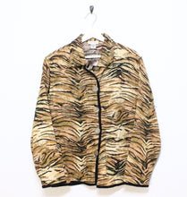 Load image into Gallery viewer, Vintage Tiger Print Jacket