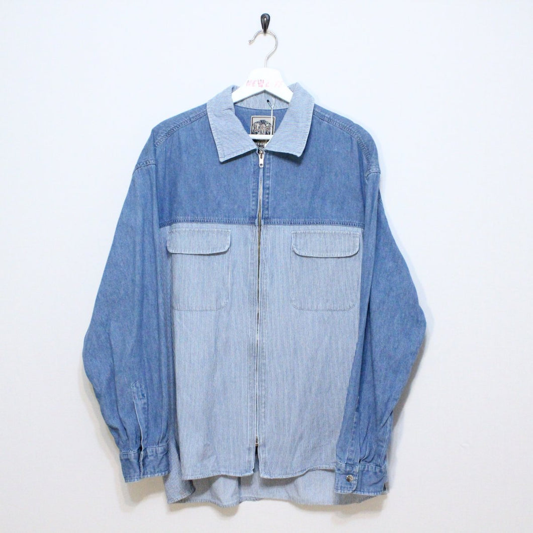 Vintage Denim Shacket