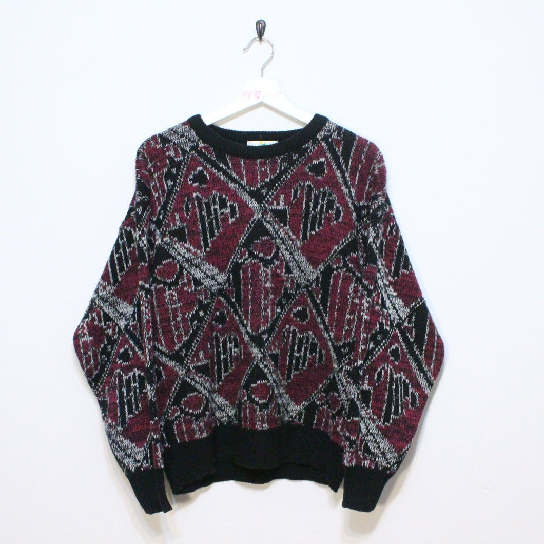 Vintage Patterned Sweater