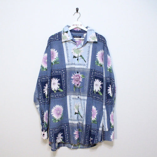 Vintage flower button up