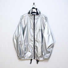 Load image into Gallery viewer, Vintage Metallic Silver Nautica Jacket
