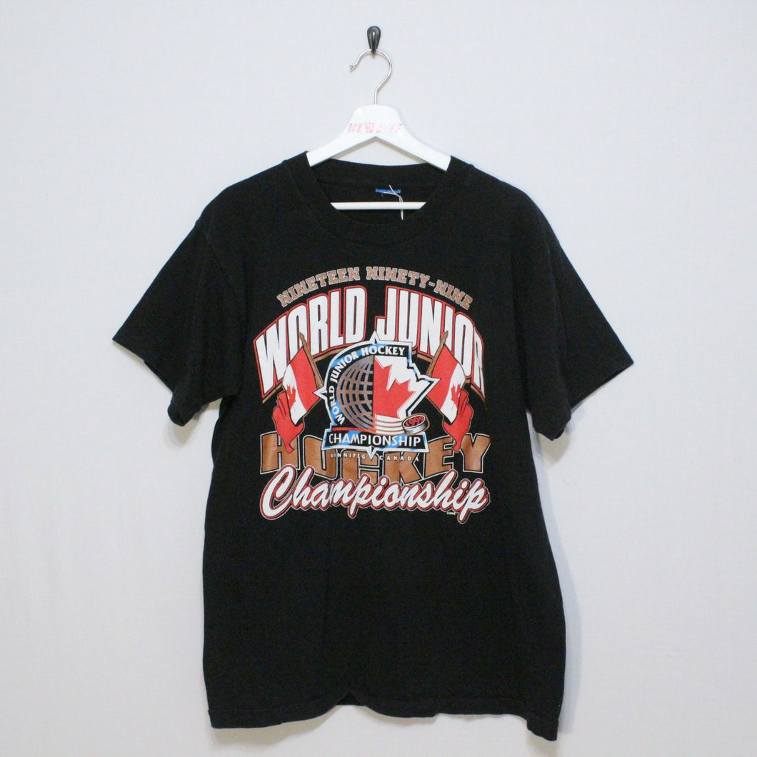 Vintage World Junior Hockey Tee
