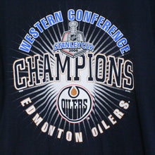 Load image into Gallery viewer, Edmonton Oilers Western Conference Champions Tee-NEWLIFE Clothing