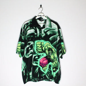Vintage Hulk Button Up