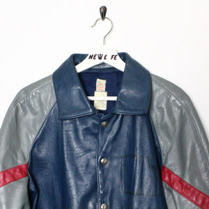 80's Marv Holland Leather Jacket - L