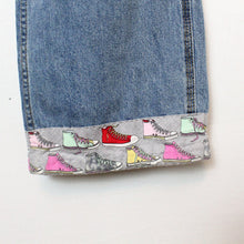 "Load image into Gallery viewer, Reworked Converse Jeans - 32""-NEWLIFE Clothing"