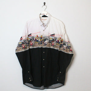 Vintage Looney Tunes Button Up