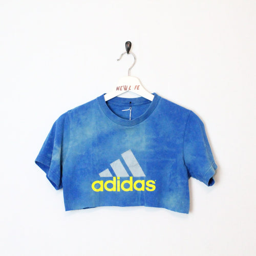 Reworked Adidas Crop Top