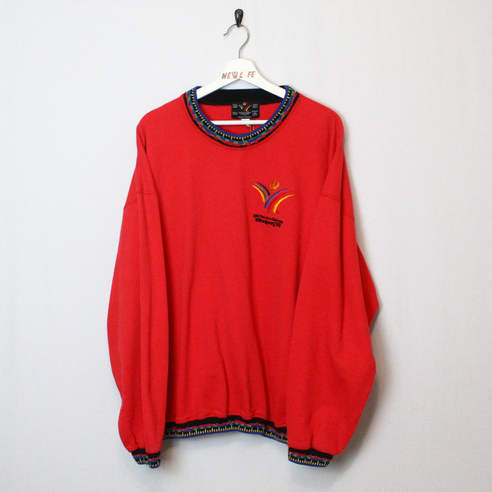 Vintage Pan An Games Crewneck