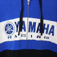 Load image into Gallery viewer, Yamaha Zip Up Hoodie - L
