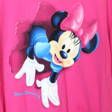 Load image into Gallery viewer, Disney Minnie Mouse Jumping Through Shirt Tee - L
