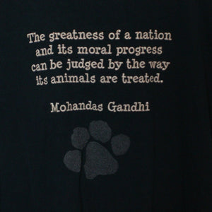 Mohandas Gandhi Tee - L-NEWLIFE Clothing