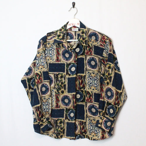 Vintage Patterned Button Up