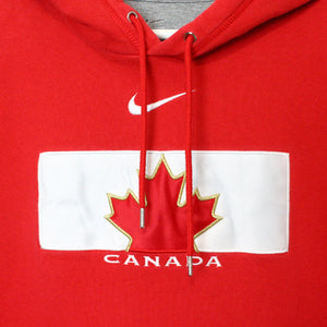 Nike Center Swoosh Team Canada Hoodie - L-NEWLIFE Clothing