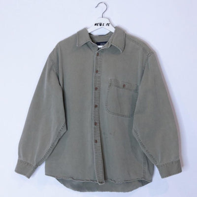 Vintage Workwear Button Up