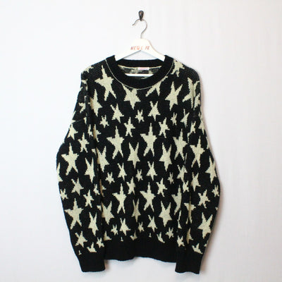 Vintage Star Knit Sweater