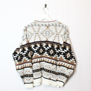 Printed Knit Sweater - L-NEWLIFE Clothing