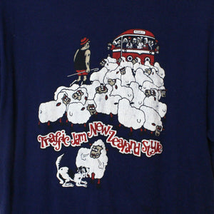60/70's Traffic Jam New Zealand Style Tee - S-NEWLIFE Clothing