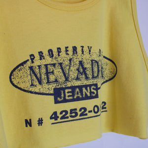 Reworked Nevada Jeans Tank - XL