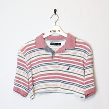 Load image into Gallery viewer, Cropped Nautical Polo