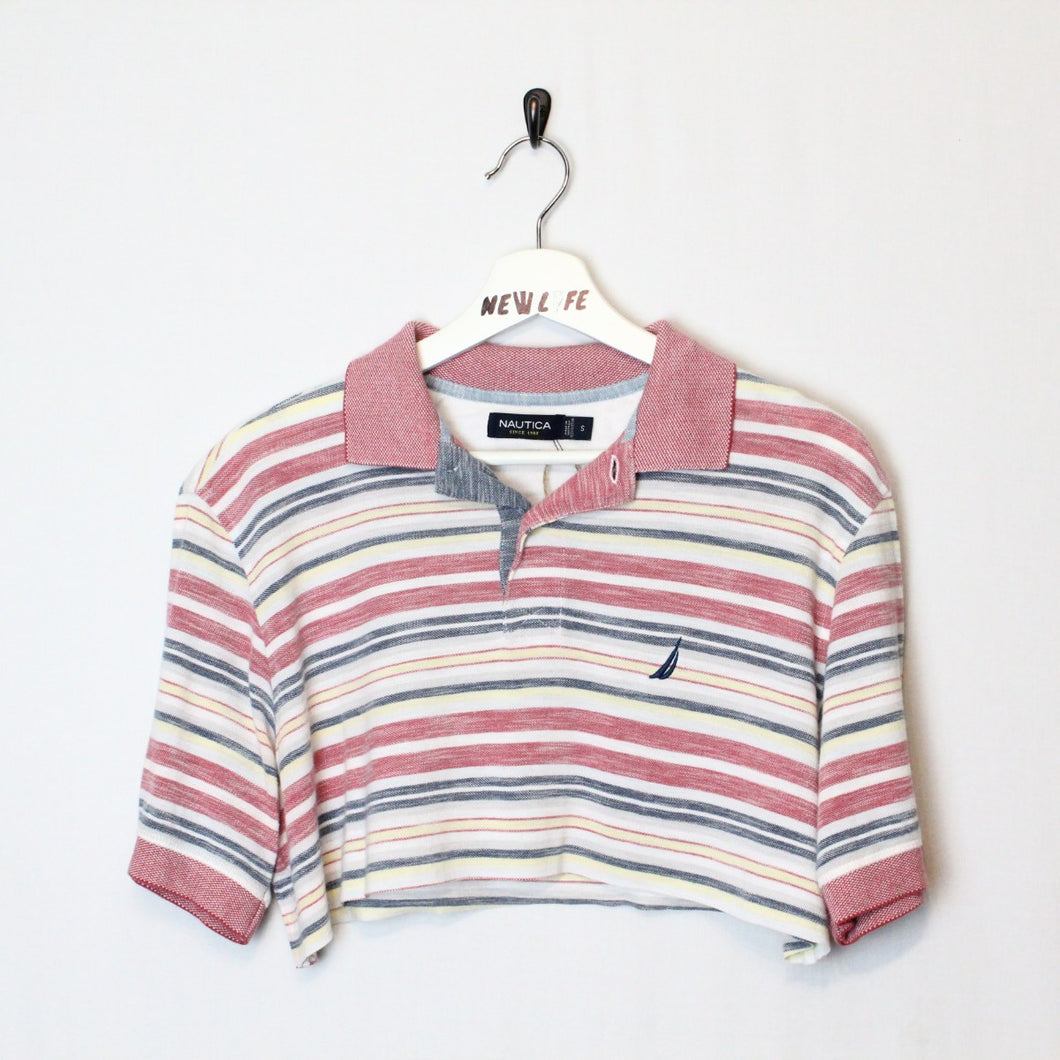Cropped Nautical Polo