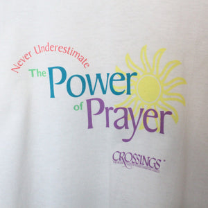 Vintage 80s/90s The Power of Prayer Tee - XL-NEWLIFE Clothing