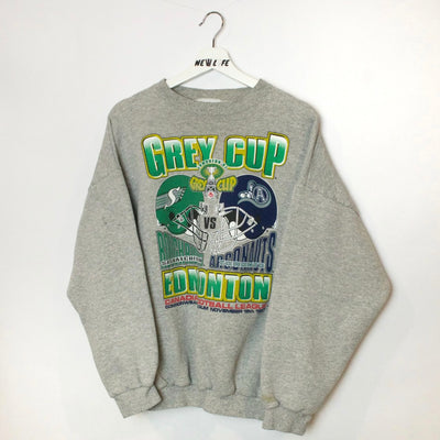 Vintage Grey Cup Sweater