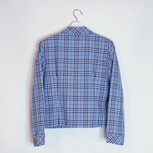 Plaid Patterned Jacket - S