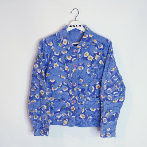 Reversible Patterned Jacket - L