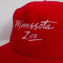 Load image into Gallery viewer, Minnesota Zoo Corduroy Snap Back Hat-NEWLIFE Clothing